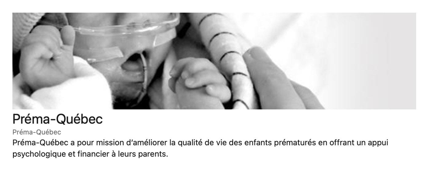 Article Prema Québec